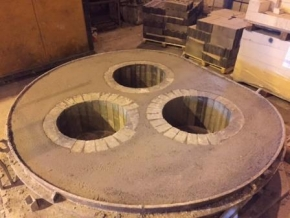 Maintenance Refractory Steel